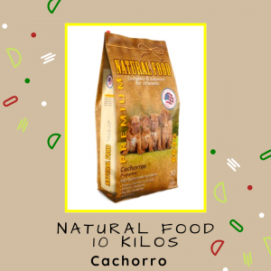 Natural Food Cachorro 10 kg