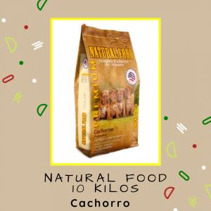 Natural Food Cachorro 10 kg