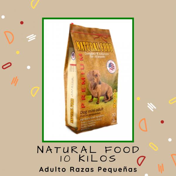 Natural Food Razas Pequeñas 10 kg
