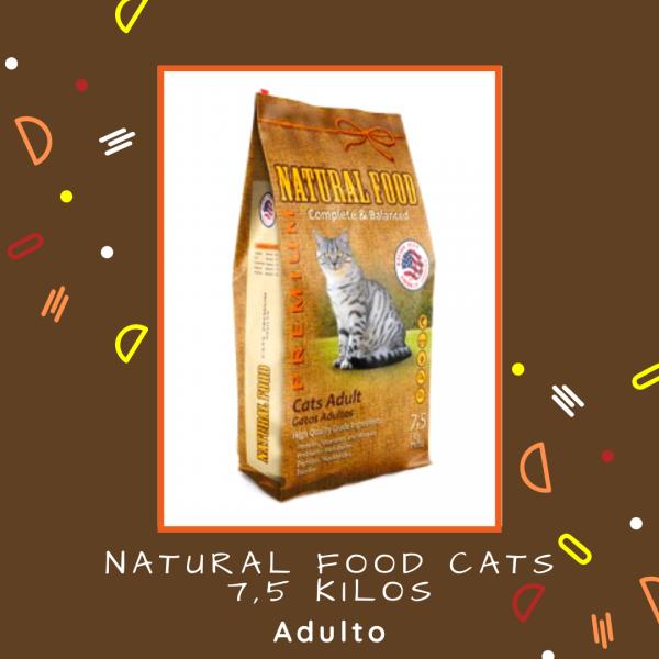 Natural Food Cats 7,5 kg