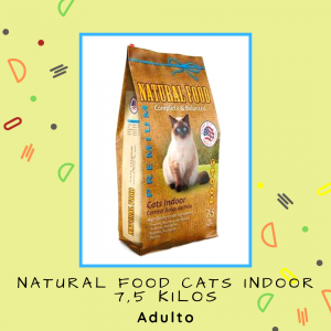 Natural Food Cats Indoor