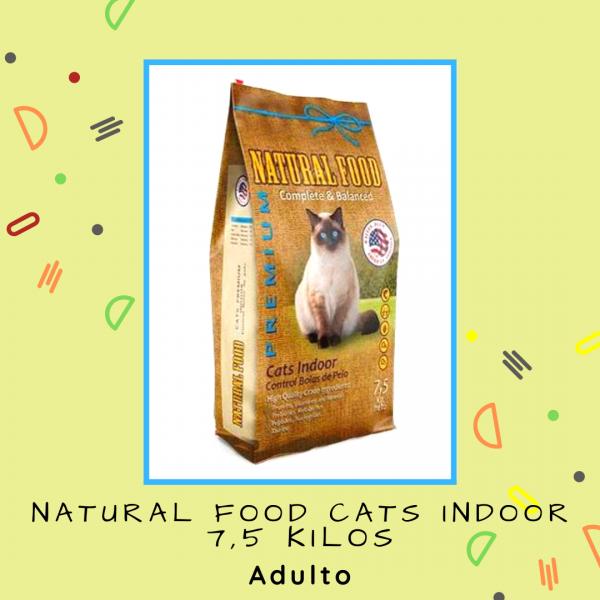 Natural Food Cats Indoor