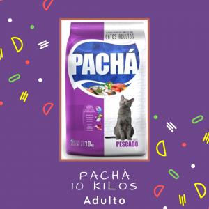 Pachá gato adulto 10 kg