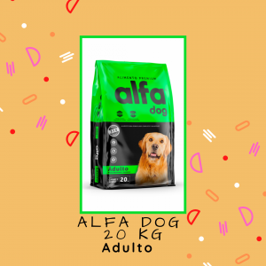 Alfa Dog Adulto 20 kg