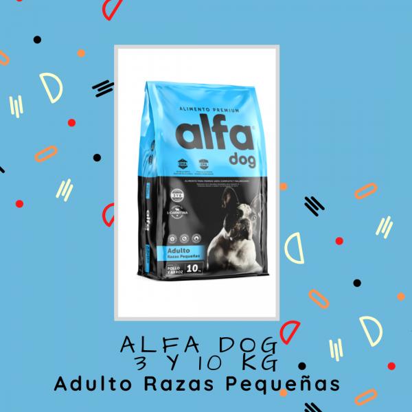 Alfa Dog Adulto Razas Pequeñas 3 kg